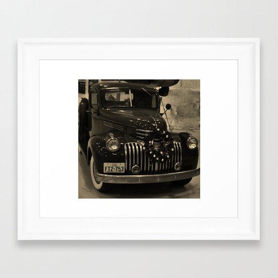 Galveston  Framed Art Print