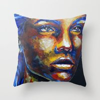 Speechless By Carographi… Throw Pillow