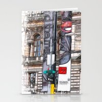 World War Z Street Location Stationery Cards