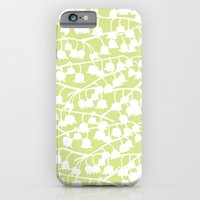 iPhone & iPod Case featuring Lily of the Valley repeat by Katy Clemmans