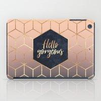 Hello Gorgeous iPad Case