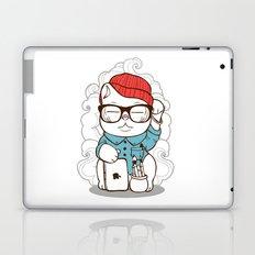 Hipster Kitty Laptop & iPad Skin