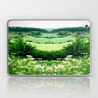 Cow Parsley Valley Laptop & iPad Skin