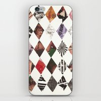 DIAMONDS iPhone & iPod Skin