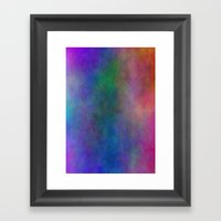AA Abstract Watercolour Framed Art Print