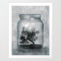 Saving Nature. Art Print