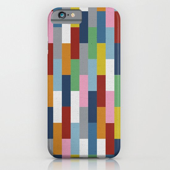 Bricks Rotate iPhone & iPod Case