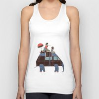 Going by Elephant Unisex Tank Top