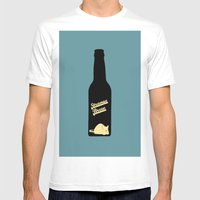 Strange Brew Mens Fitted Tee White SMALL