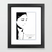 Project Framed Art Print