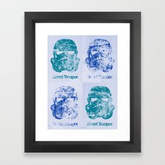 BEAST Street Trooper - Fab Four Framed Art Print