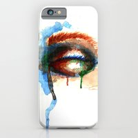 Watercolor Eye iPhone 6 Slim Case