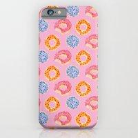 sweet things: doughnuts (pink) iPhone 6 Slim Case