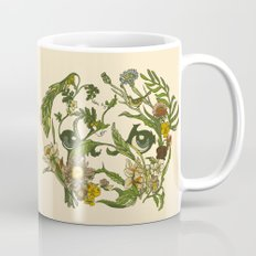 Botanical Pug Mug