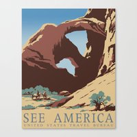 See America Canvas Print