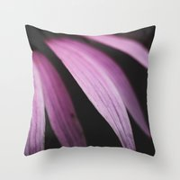 Lavender  Bloom Throw Pillow