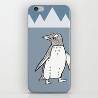 lil penguin iPhone & iPod Skin