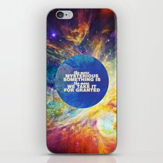 Mysterious Something iPhone & iPod Skin