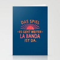 La Banda Ist Da Stationery Cards