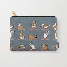 English Bulldog Yoga Carry-All Pouch