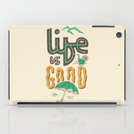 Life Is Good iPad Case