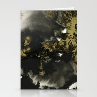 Black And Gold II Stationery Cards