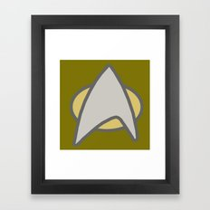 Star Trek, Communicator  Framed Art Print