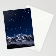 At the roof of the world Stationery Cards