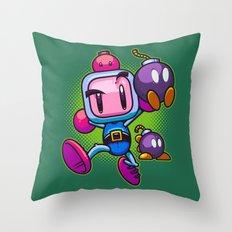 Bombs Away Throw Pillow