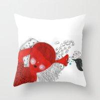 The Ear That Never Sleep… Throw Pillow