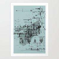 USELESS POSTER 6 Art Print