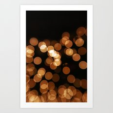 Christmas Haze Art Print