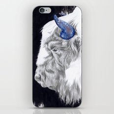 Space Cow iPhone & iPod Skin