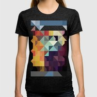 Color Story - Ascension Womens Fitted Tee Tri-Black SMALL