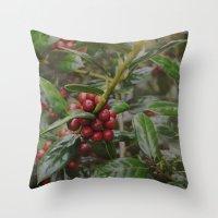 Holly-luia Throw Pillow