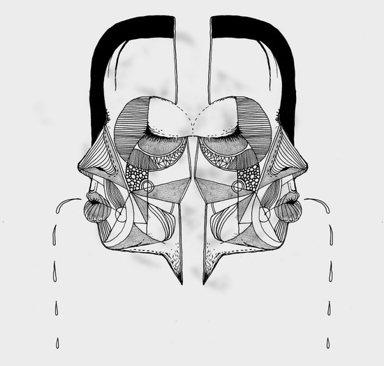 'Face Study I' Art Print