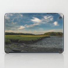 Sky and marsh iPad Case