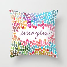 Imagine [Collaboration with Garima Dhawan] Throw Pillow