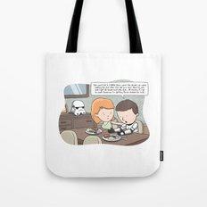 Force-Choked Tote Bag