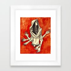 Come into my world Framed Art Print
