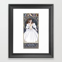 Sarah Nouveau - Labyrinth Framed Art Print