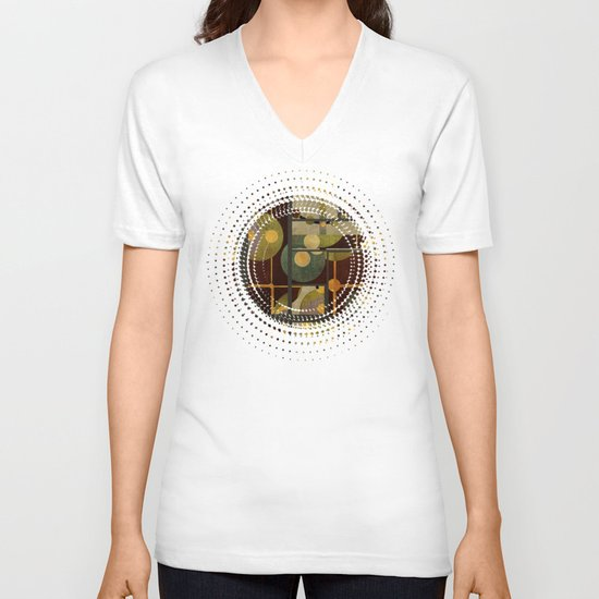 Textures/Abstract 99 V-neck T-shirt