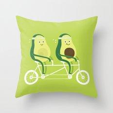 AvoCardio Throw Pillow
