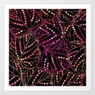 Leaf Abstraction(4). Art Print