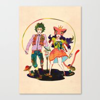 LSD Love Canvas Print