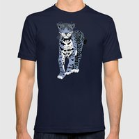 Midnight Jaguar Mens Fitted Tee Navy SMALL