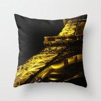 Paris Lights Throw Pillow