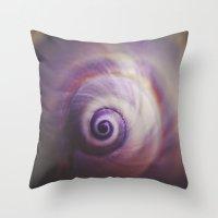 Spiral II. Throw Pillow