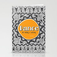 QUOTWAIN (1 of 4) - DANCE V1 Stationery Cards