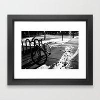 Left.  Framed Art Print